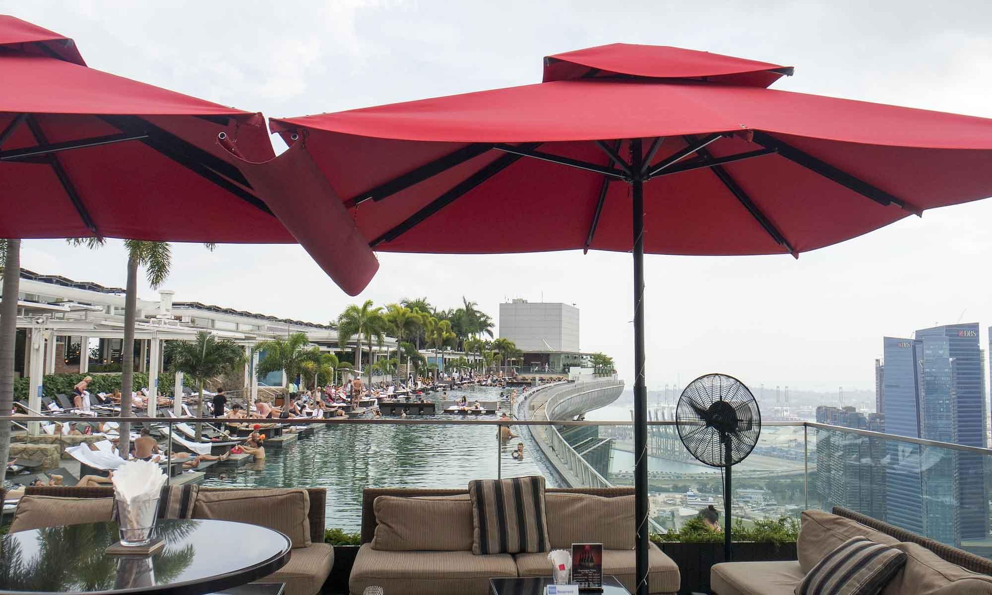 Infinity pool Marina Bay Sands Hotel, Singapore