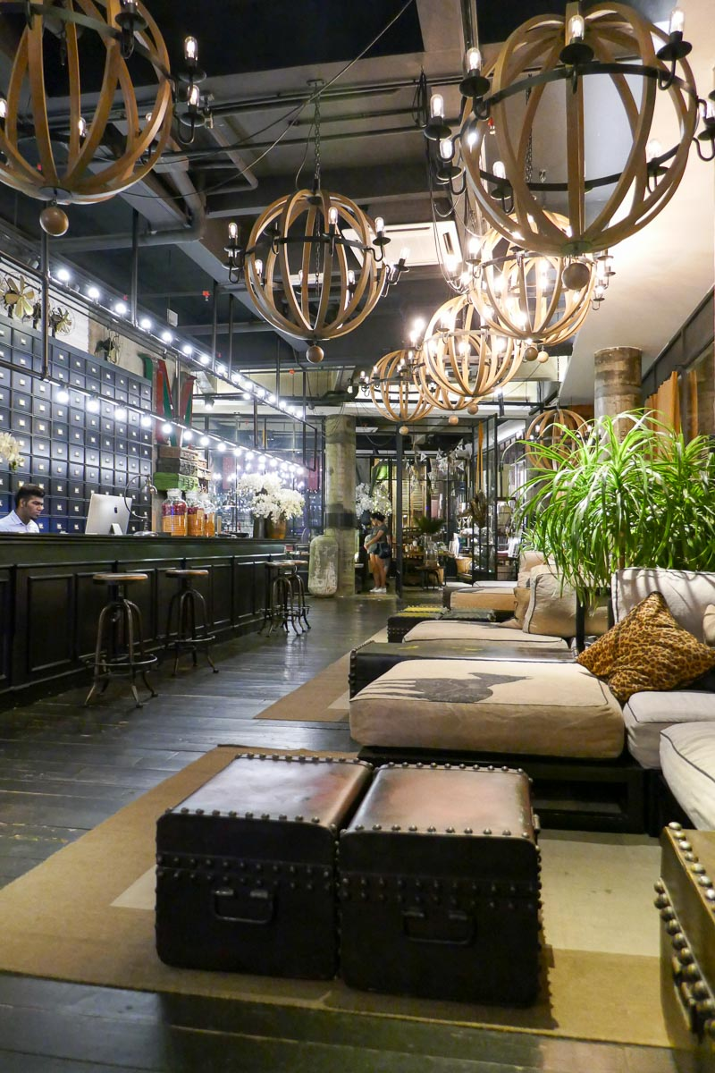 M Boutique Hotel lobby