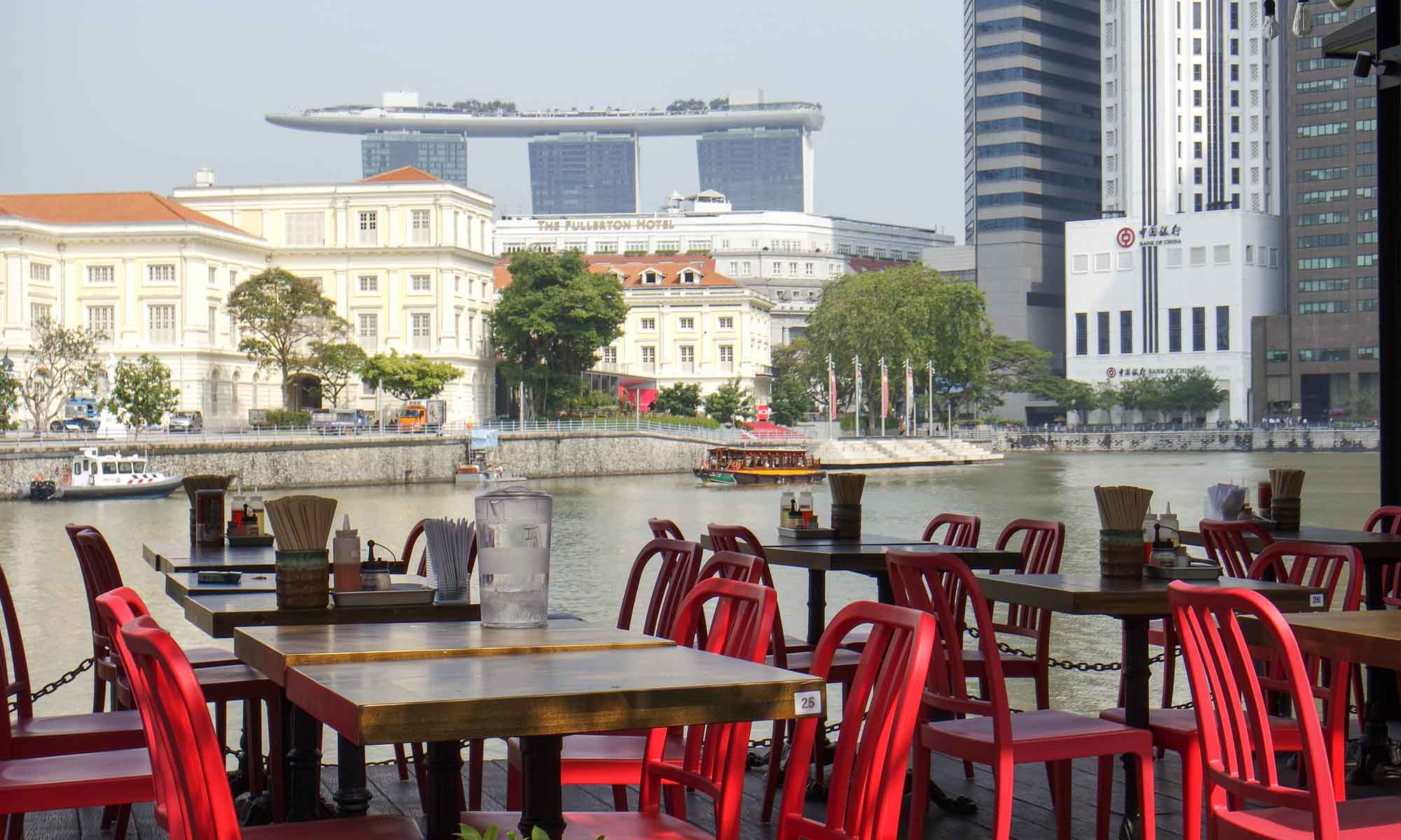 View from Boat Quay, Singapore
