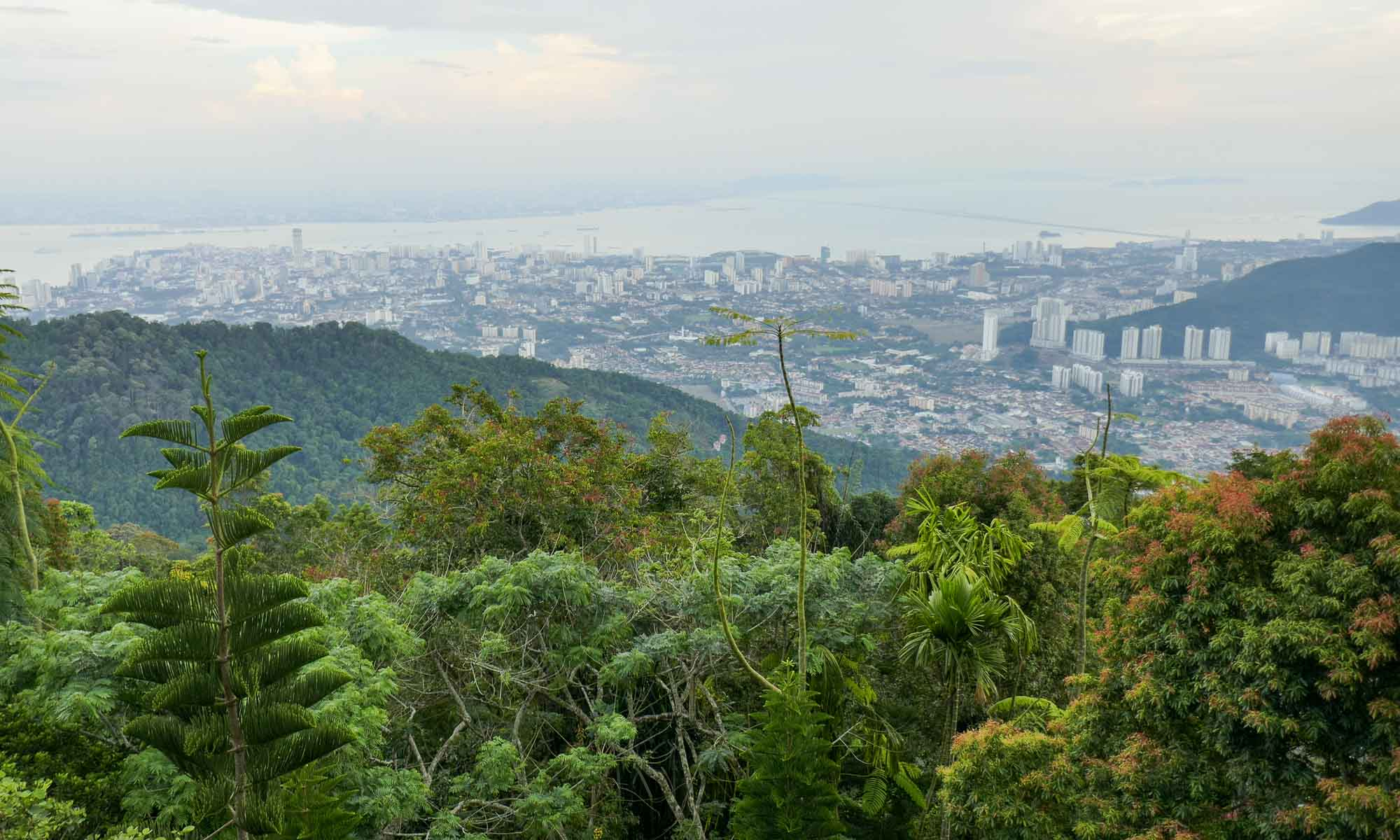 View over Georgetown from Penang Hill