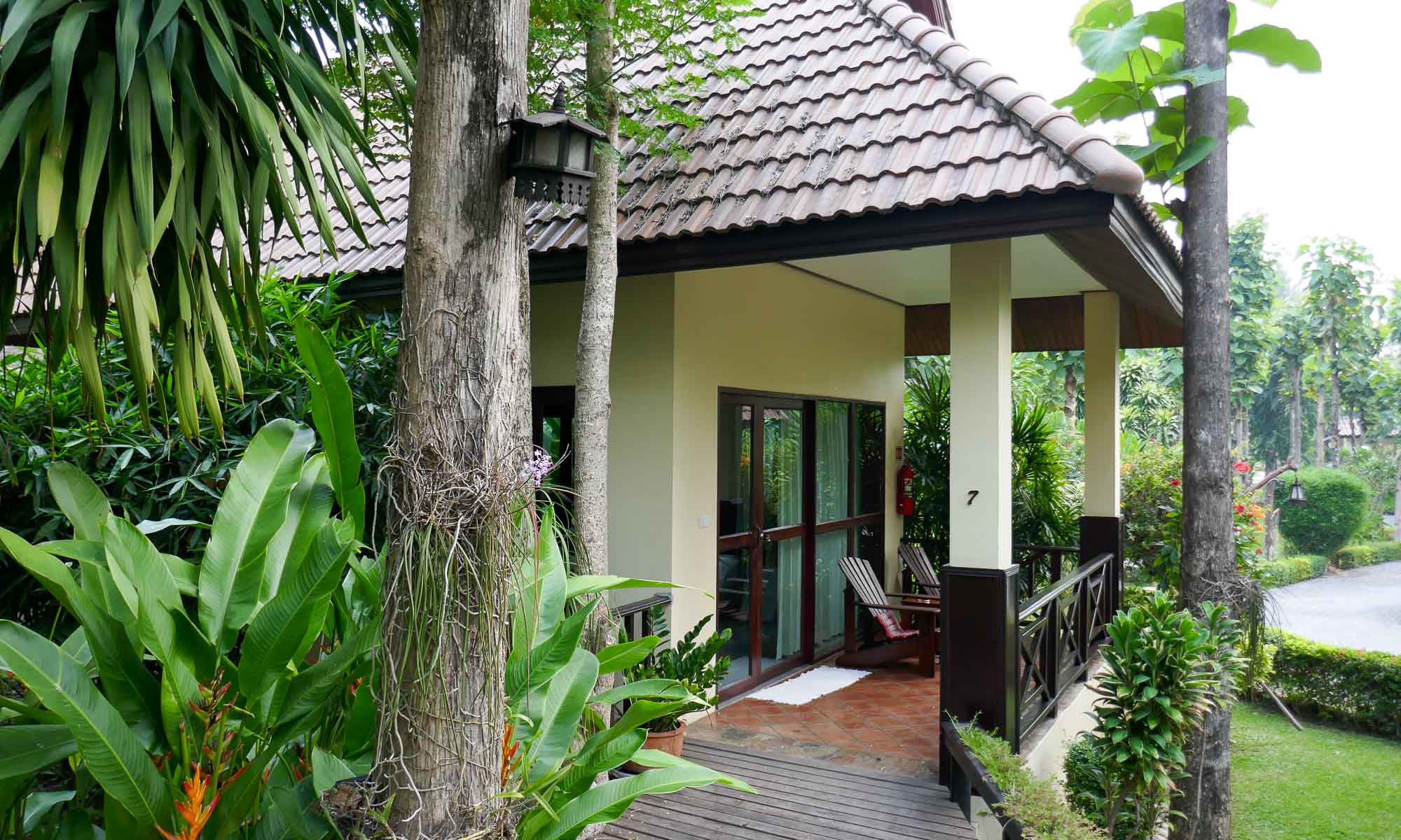 Our home for 3 days at Oriental Kwai Resort