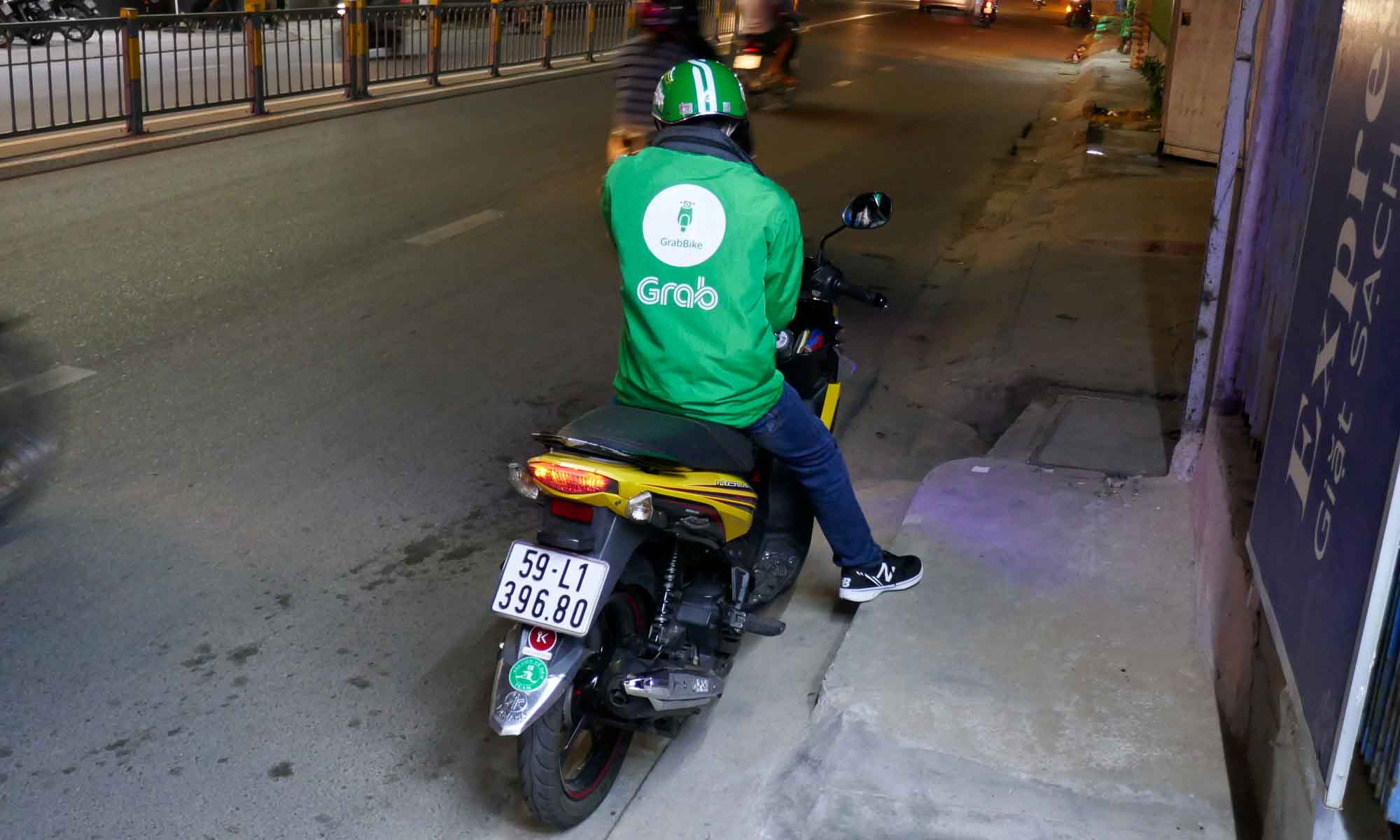 For a single person GrabBike is also an option