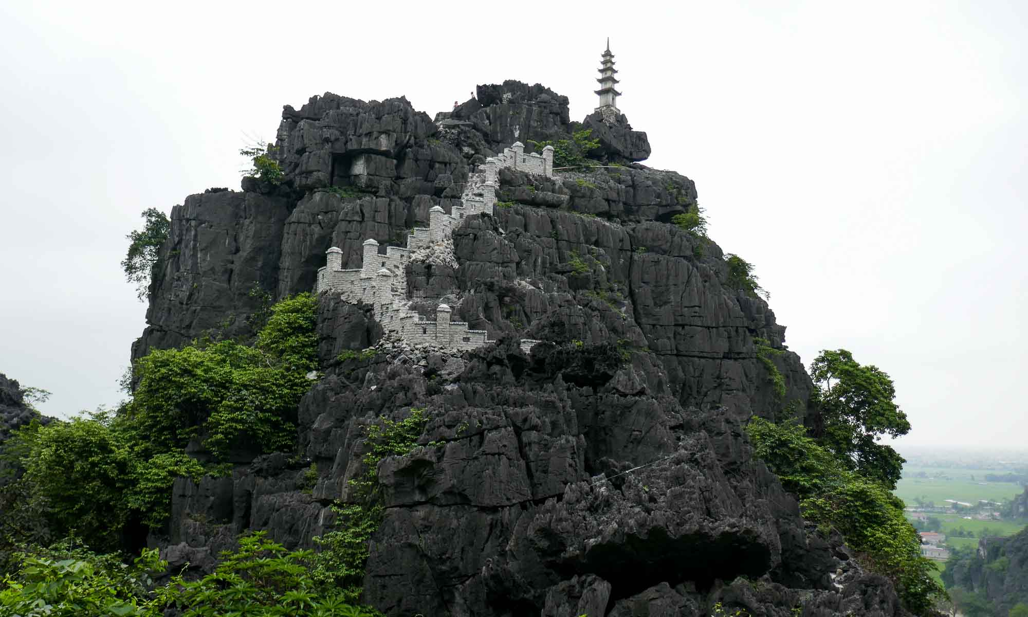This peak is a lower part of Hang Mua which can also be climbed