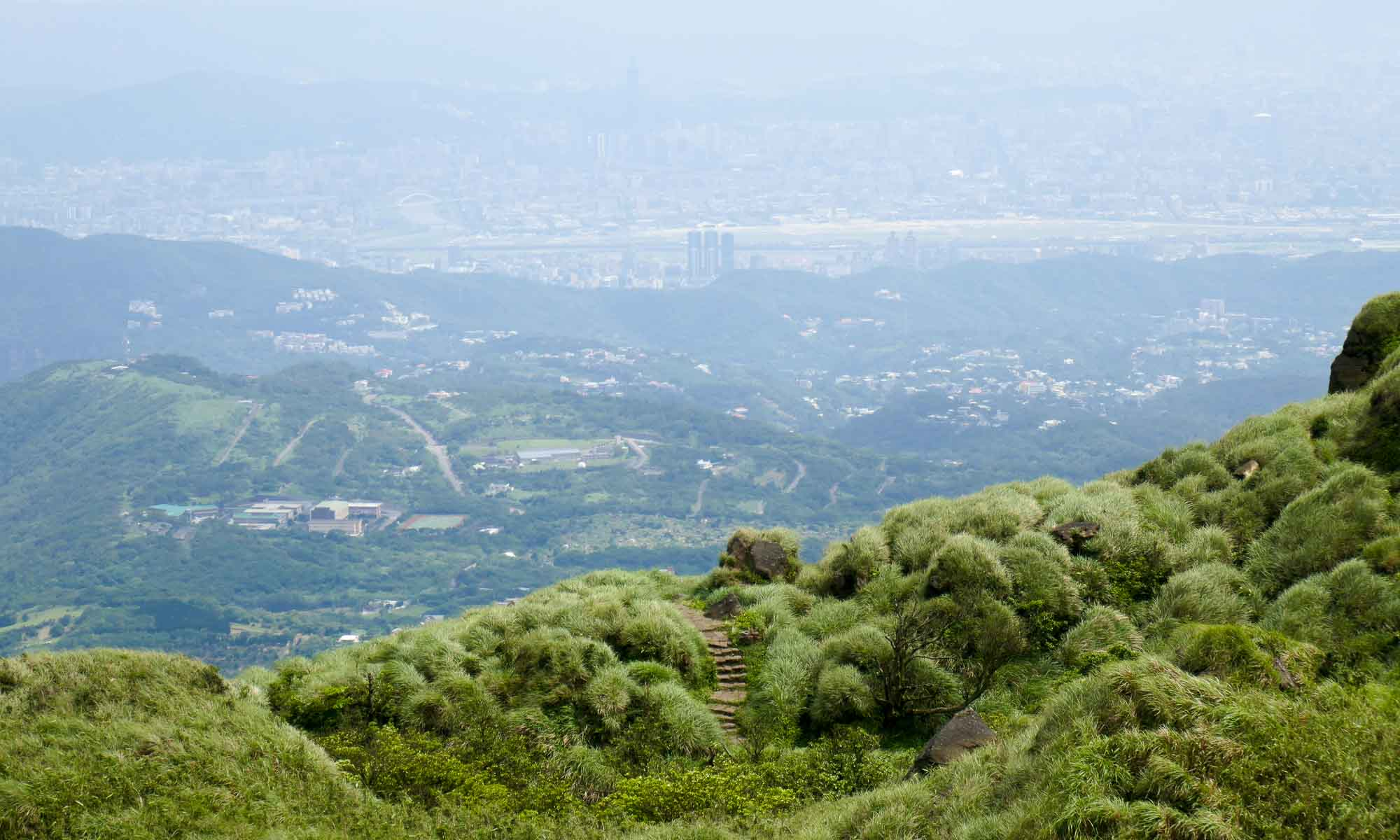 View of Taipei from Mount Qixing