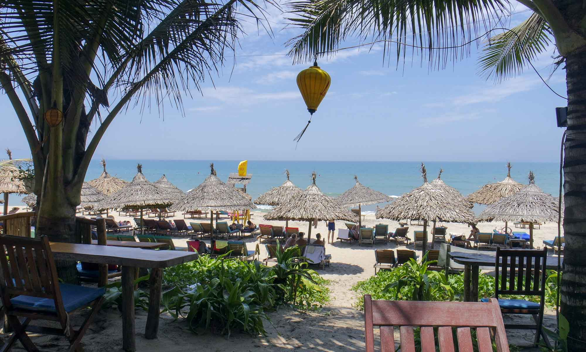 An Bang beach - view from La Plage