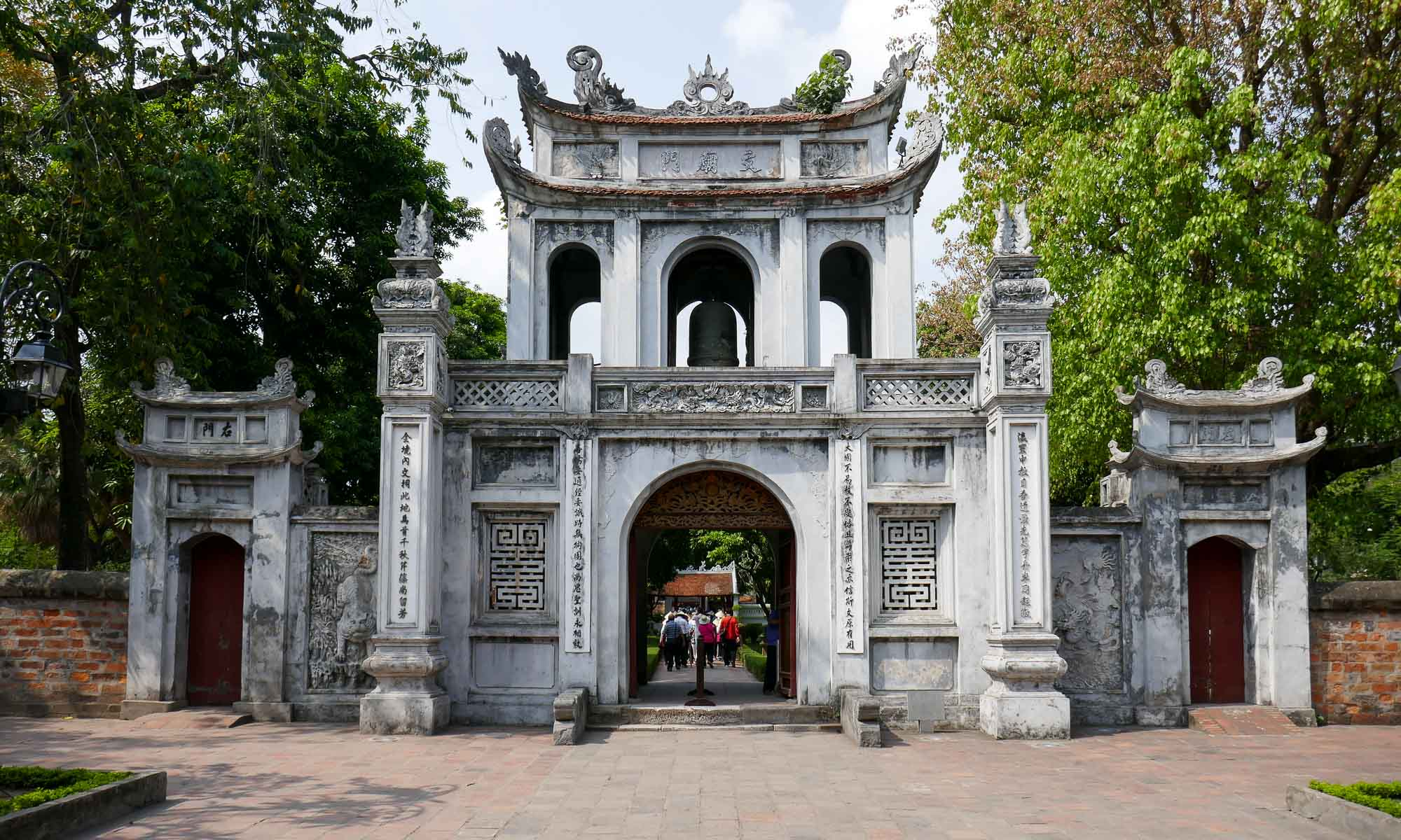 Entrance of Temple of Literature