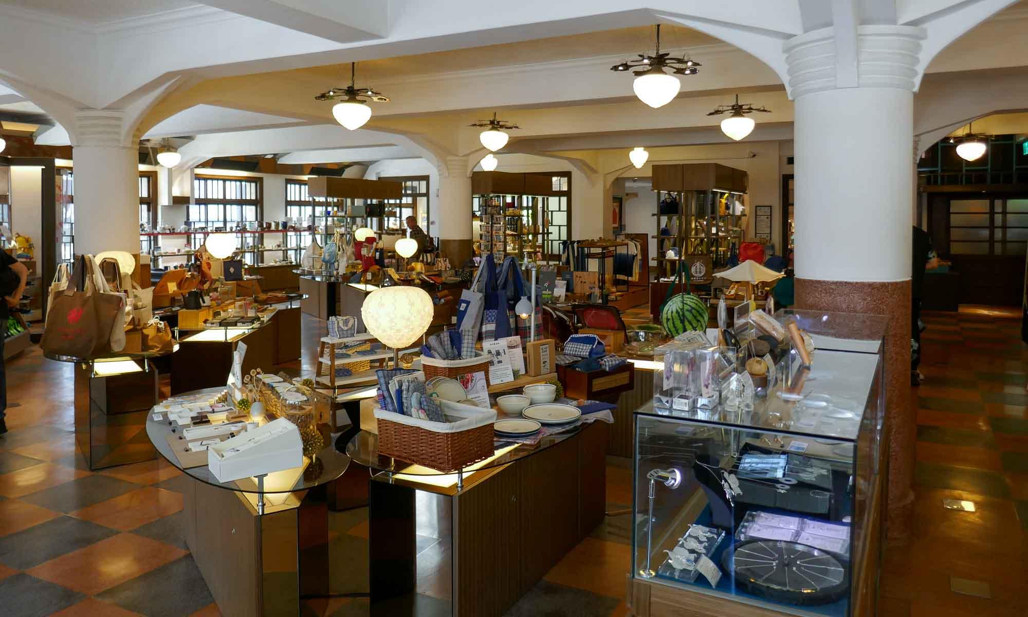Inside Hayasi Department Store