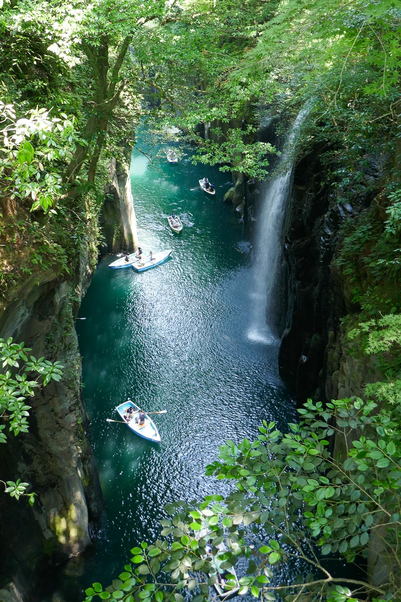 Manai waterfall at Takachiho Gorge