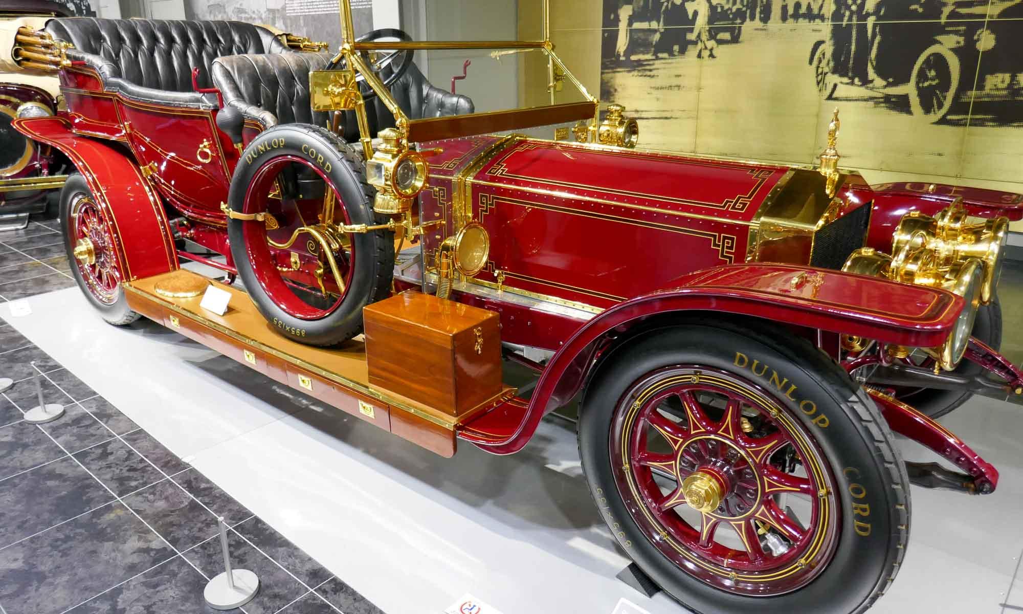 Rolls-Royce Silver Ghost, 1910