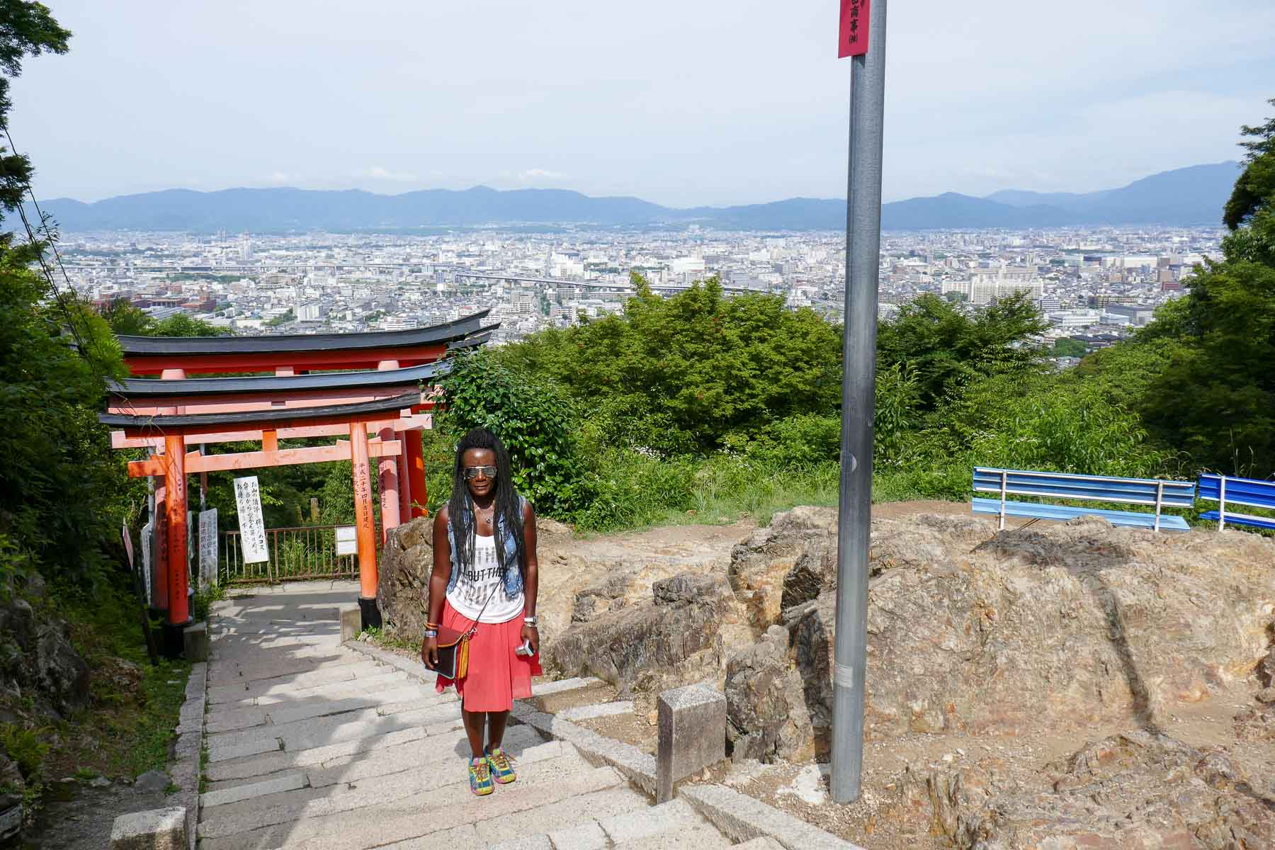 Almost at the top of Mount Inari