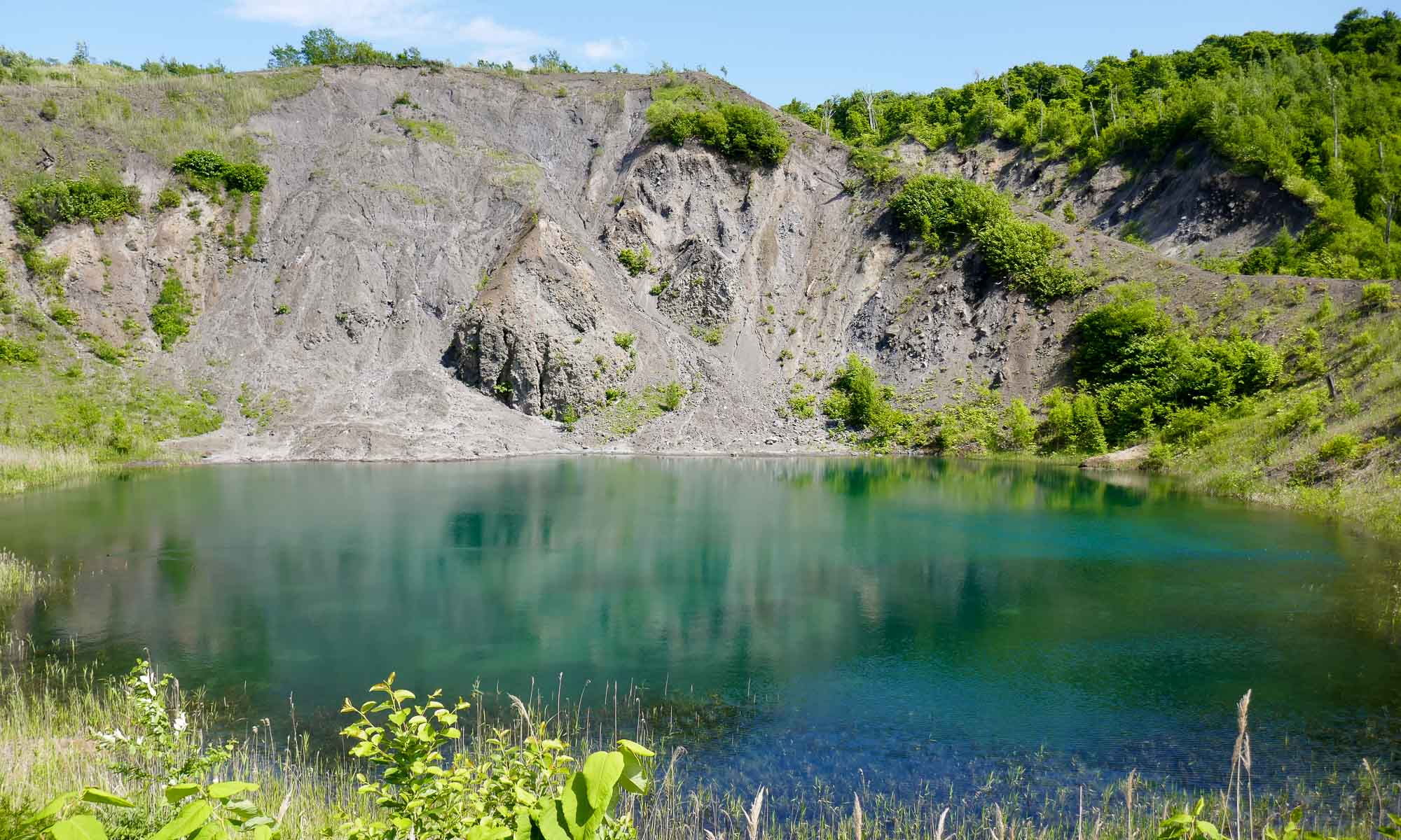 Yukun crater on the Kompirayama Trail