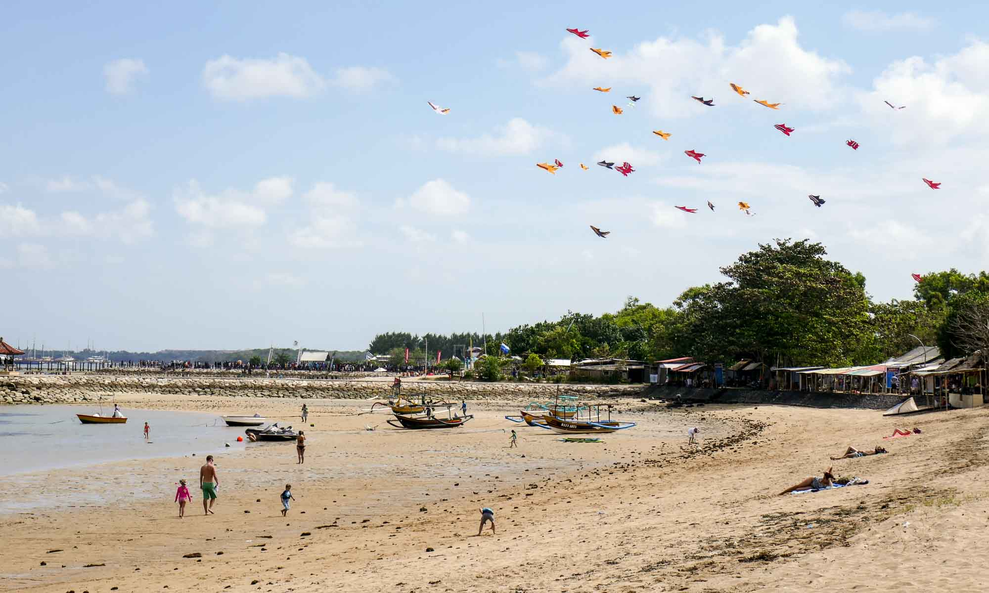 Bali Kite Festival at Sanur Beach