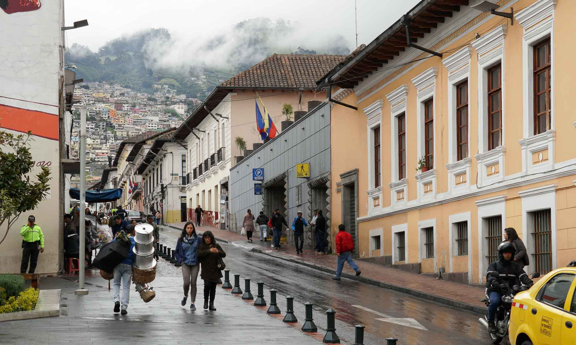 A rainy day in Quito